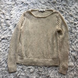 [a10-23] Forever 21 | waffle knit sweater